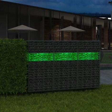 Gabion Rocks Glass Green 60-120 mm 25 kg - Green