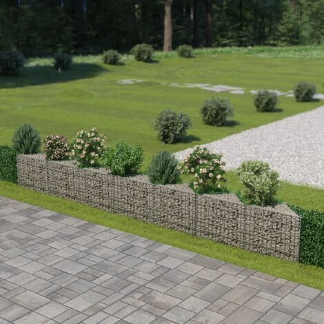 Gabion Wall Galvanised Steel 450x30x50 cm