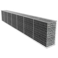 Gabion Wall with Cover 600x50x100 cm