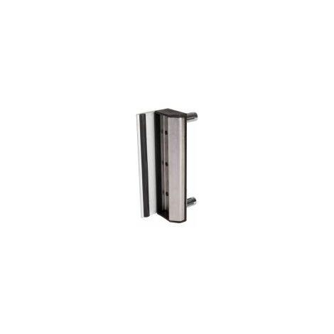 Gâche de type industriel, grise, pour profil rond 40 à 60mm.- LOCINOX - - SARLQF.