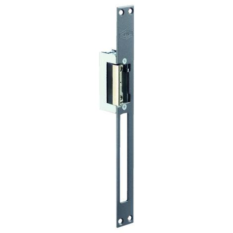 Gâche électrique 12V standard JPM symétrique à mortaiser - 001037-01-1A