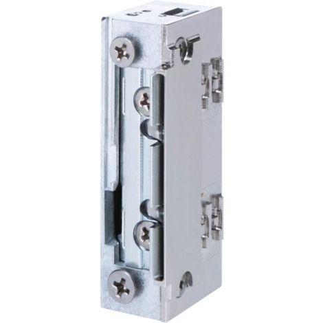 gâche électrique à larder étanche profil étroit sans découpe à émission 10/24 vcc