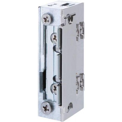 gâche électrique à larder étanche profil étroit sans découpe à rupture 12 Vcc