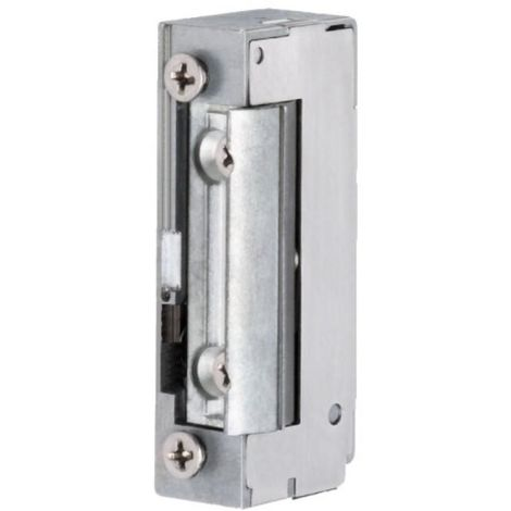 Gâche électrique type SPE 71 E à émission avec décondamnation manuelle 12/24 Volts