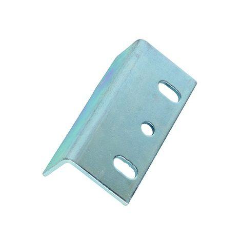 Gâche Équerre KLOSE besser Multi usages et pour Batteuses en acier zingué épaisseur 2 mm