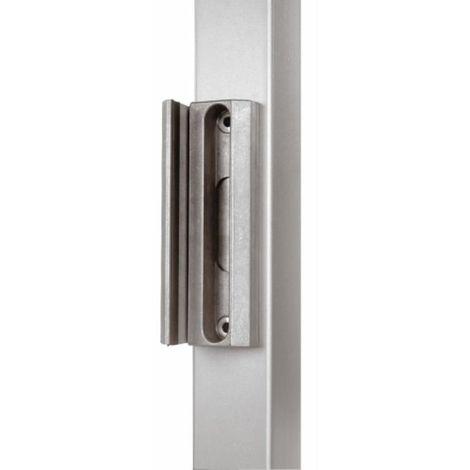 Gâche pour serrure de portail LAKQ 40, profil carré à partir de 40 mm, coloris vert