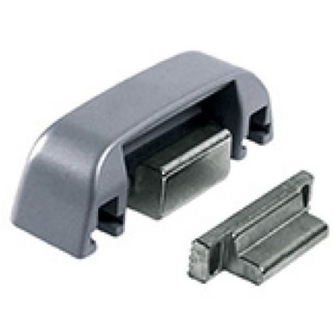 Gâches 2 vantaux 0/11 mm noir 9005