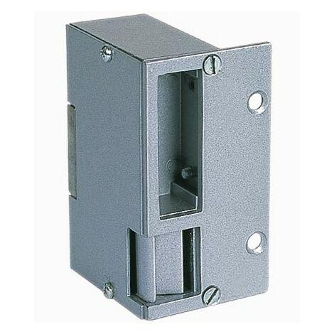 Gâches applique électrique réversible GARHI12 en aluminium - Horizontale - 90mm - 12V DC - Non symétrique - Rupture
