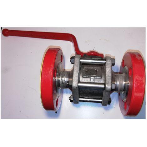 Gachot V16 Ball valve DN25 PI FAB - PN40 - Inox