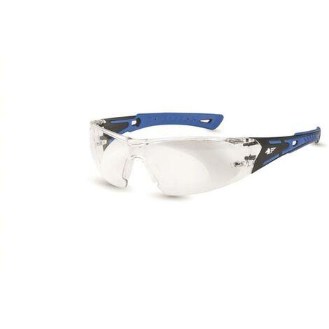 Gafa anti-impacto policarbonato/incolora negro/azul black & white 01 pegaso