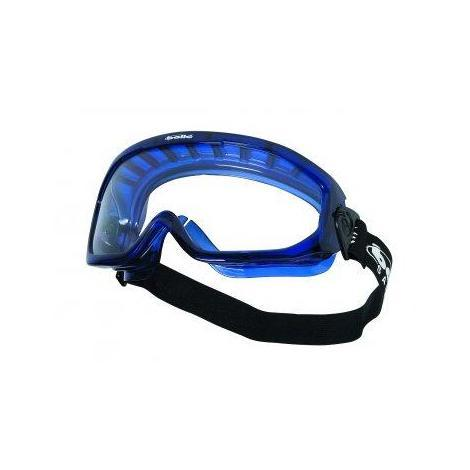 Gafa panorámica BLAPSI PVC azul pc-incoloro aireada BOLLE