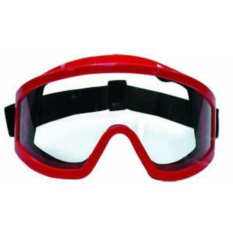 Gafa Star protectora Mod. 2977 EN.166 con ajuste elástico y montura Roja