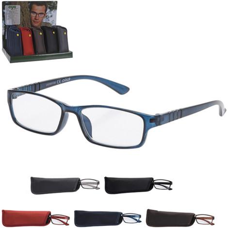 3d3105e708 Gafas De Lectura Con Funda Incluida Colores Surtidos Euro/U - 235282