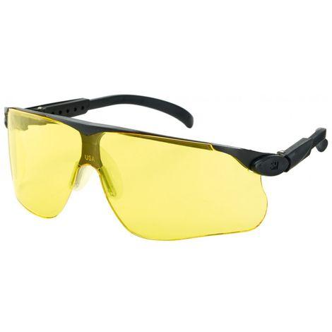 Gafas de protección Maxim DX/UV,PC, amarillo,marco negro
