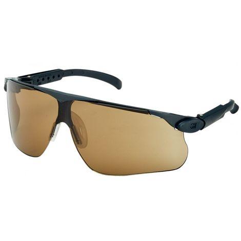 Gafas de protección Maxim DX/UV,PC, bronze,marco negro