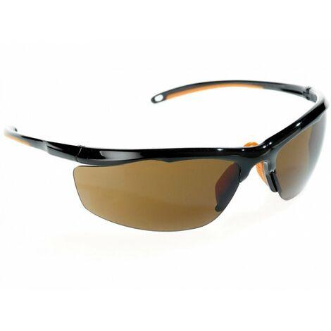 Gafas de protección solar. Ocular ahumado. Grado 5-3.1 Peso 22g EN172