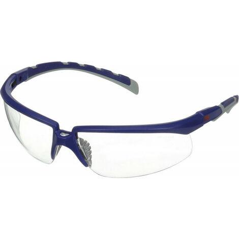 Gafas De Protección Solus. Bleu/Gris . Anti-Buée. Anti-Rayures. Lentille Claire