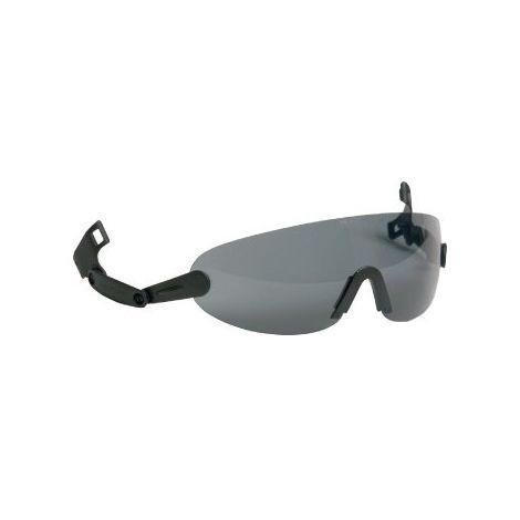 Gafas de protección V6B para Peltor Schutzhelme,gris