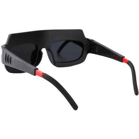 Gafas de seguridad de soldadura con oscurecimiento automatico solar, anti UV