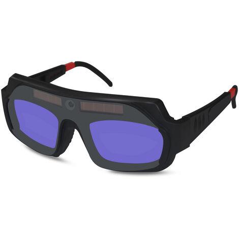 Gafas de soldadura con atenuacion automatica, gafas antideslumbrantes Gafas de soldadura con arco de argon