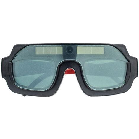 Gafas de Soldadura de Luz Variable Automatica Solar KKmoon, con Lente Doble