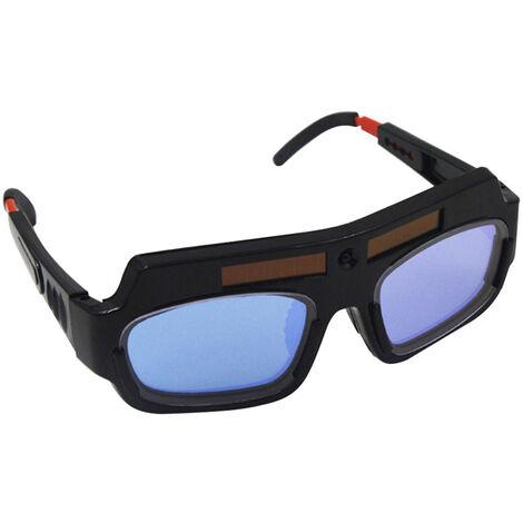 Gafas de soldadura electrica de luz variable automatica, gafas protectoras