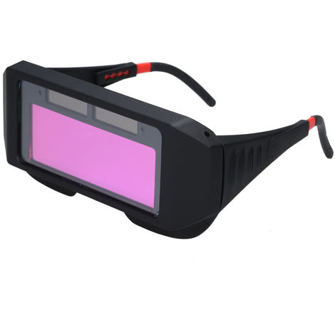 Gafas de soldar que cambian de color, gafas protectoras LCD con proteccion UV