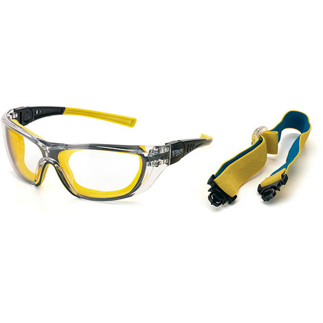 Gafas Proteccion Antiraya/Vaho - MARCA - 2188-GD..