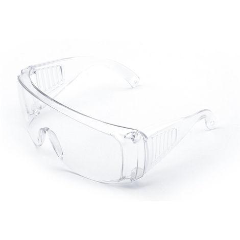Gafas protectoras, a prueba de salpicaduras, con recubrimiento antivaho, transparente