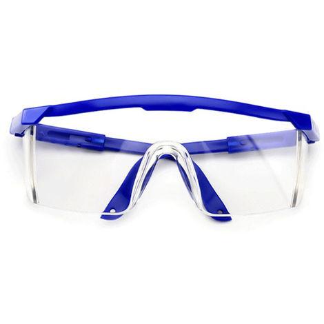 Gafas protectoras de seguridad, a prueba de salpicaduras, azul