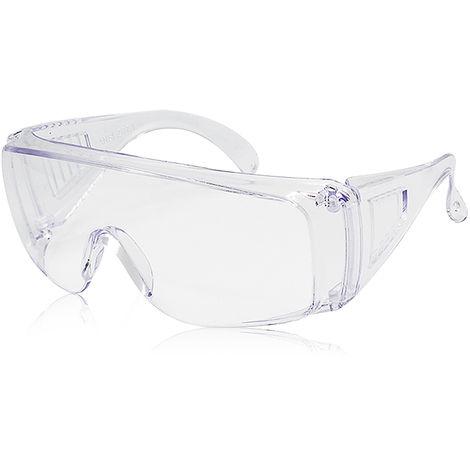 Gafas protectoras para adultos, con lentes transparentes y resistentes a los aranazos