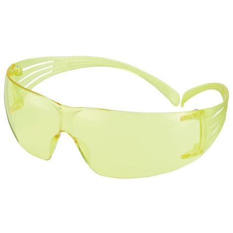 Gafas Secure Fit 203,AS,AF,UV,PC,amarillo,Rahmen amarillo
