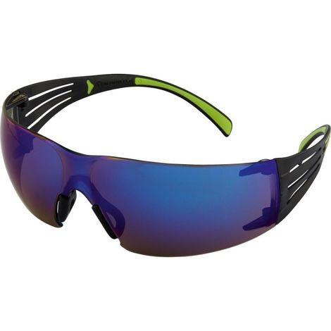 Gafas Secure Fit408AS, PC,azul espejo,AS