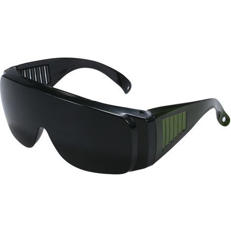 Gafas seguras Gafas de seguridad para trabajos industriales Gafas negras a prueba de viento Gafas de trabajo