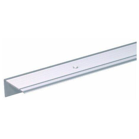 Gah-Alberts Nez de marche en aluminium 1000 x 21 x 21 mm Argenté anodisé