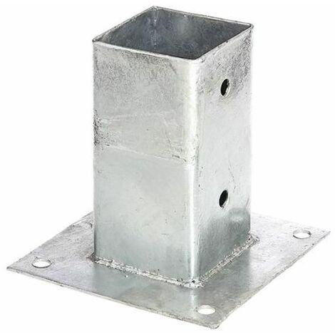 GAH Ancre sur platine pour poteaux en bois carré 211615
