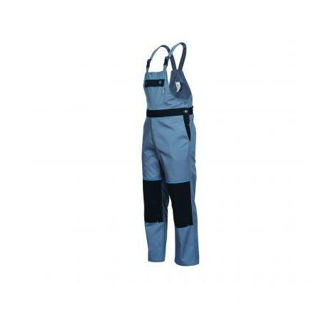 GAHIBRE - Peto de trabajo gris/negro/azul