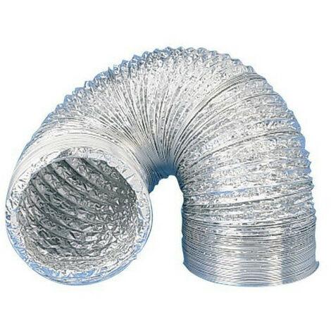 Gaine aluminium pour extracteur d'air Ø 100 mm x 10 m- Winflex ventilation