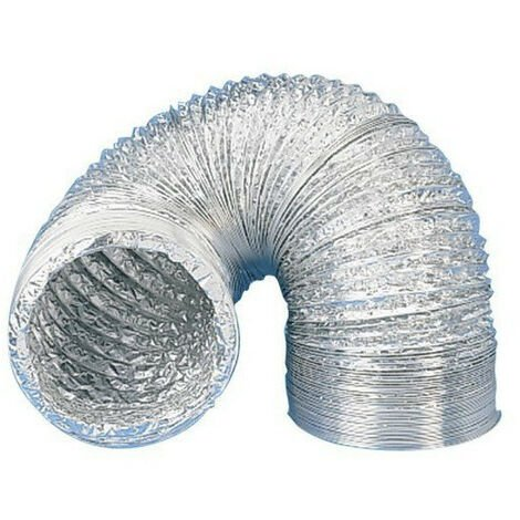 Gaine aluminium pour extracteur d'air Ø 250 mm x 10 m- Winflex ventilation