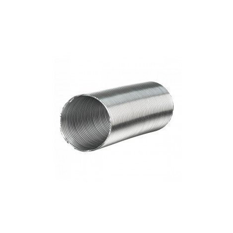 Gaine aluminium semi-rigide 200mm x 3m - conduit de ventilation - Winflex Ventilation