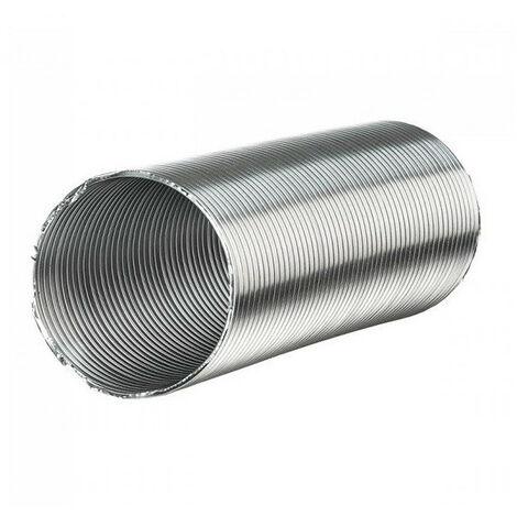 Gaine Aluminium Semi Rigide 250mm X 3 Mètres Ventilation