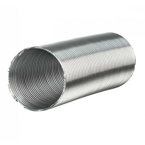 Gaine aluminium semi-rigide - 315mm x 3 mètres ventilation