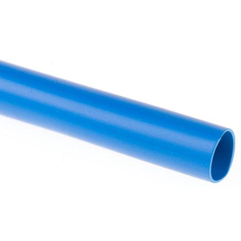 Gaine de câble, RS PRO, Diam 10mm, en PVC Bleu, 10m