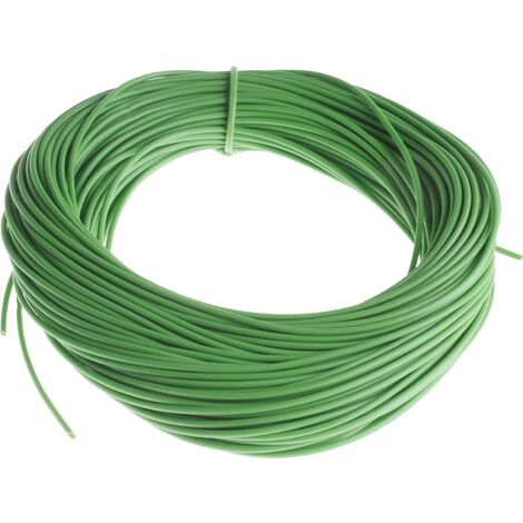 Gaine de câble, RS PRO, Diam 2mm, en PVC Vert, 50m