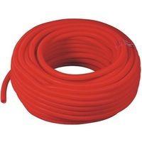 Gaine isolante en polypropylène rouge 100m Diam 23 int