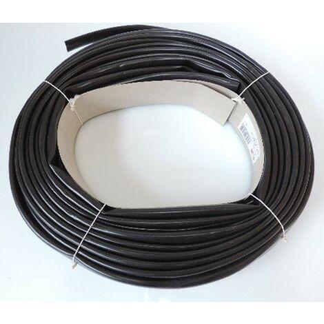 Gaine isolante PVC noire pour hautes températures Ø int 12mm (couronne de 25m) PLIO HT LF 12x13.5 SES STERLING 08170010010