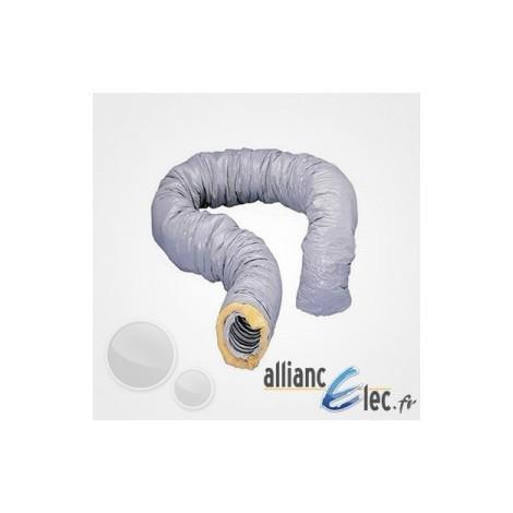Gaine isolée Atlantic PVC diam, 160 Calorifugé 6 Metres