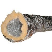 Gaine isolée thermique et phonique en alu 10m Ø152mm pour cheminée