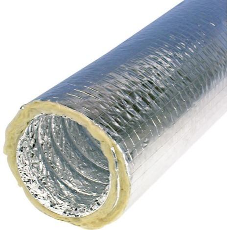 Gaine Isolée Thermiques M0m1 Pour Gainable Diamétre 200 Mm Epaisseur 25 Mm 10 M