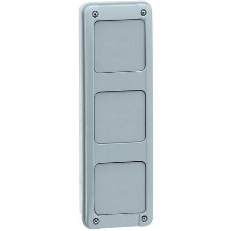Gaine multifonction verticale pour coffrets Plexo3 2 rangées (001917)